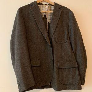 Barely worn wool casual/dress sport coat